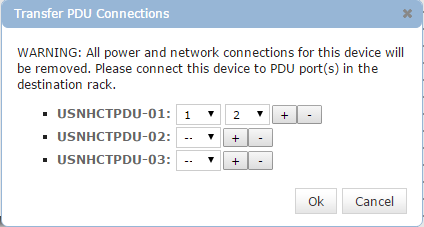 Transfer PDU Connections