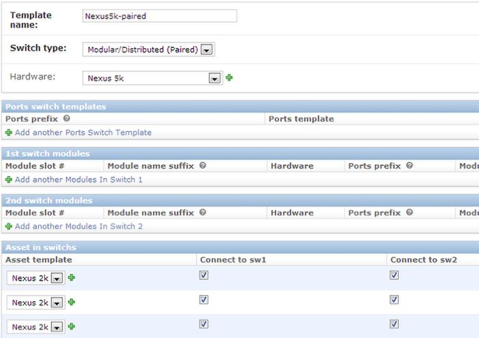 Switch templates device42 documentation | device42 documentation.