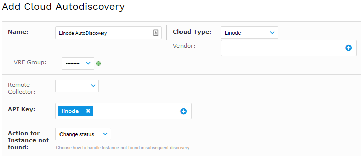 Add Linode Disovery