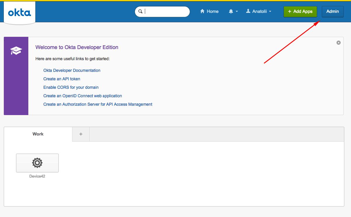 SAML 2 0 Configuration - Device42 Documentation | Device42