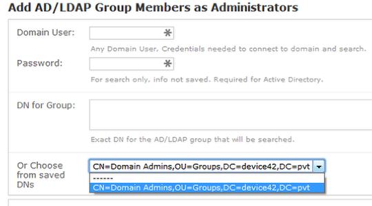 Active Directory / LDAP User Sync - Device42 Documentation