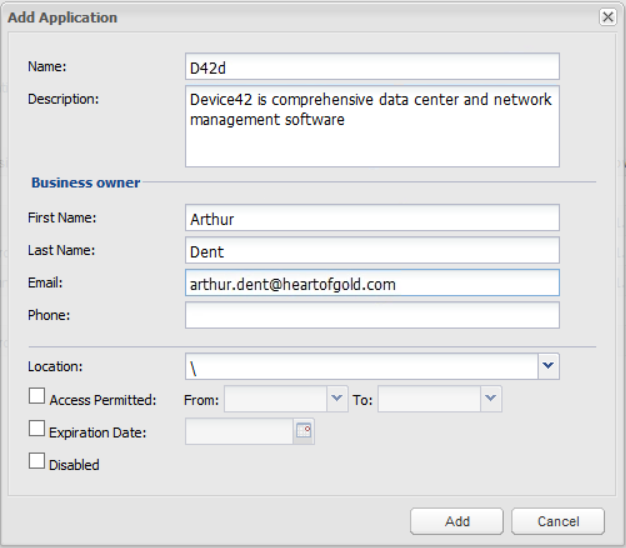 create account for d42 cyberark
