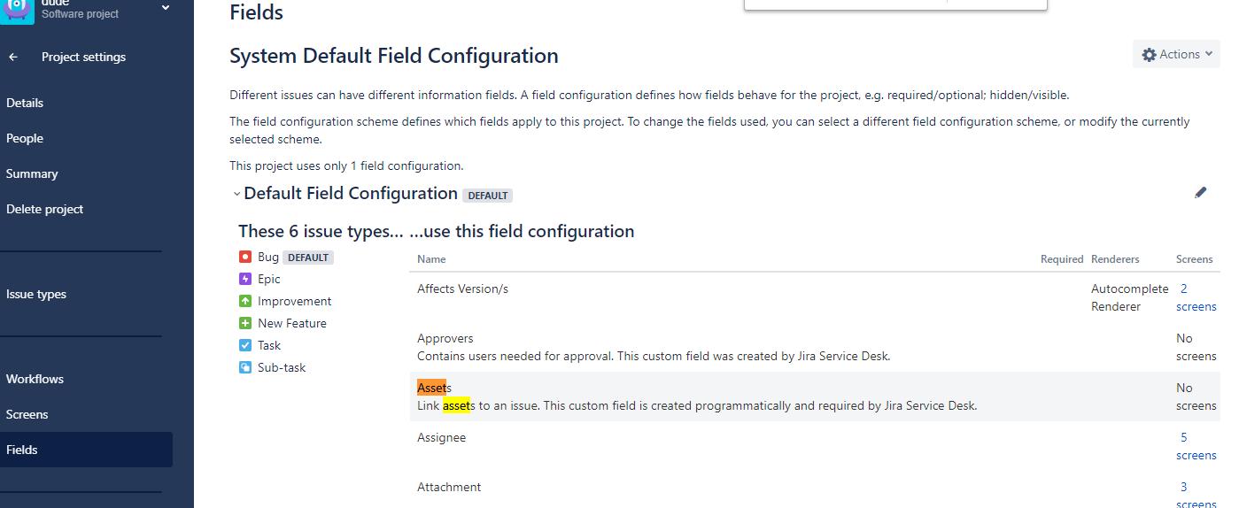 add field to default