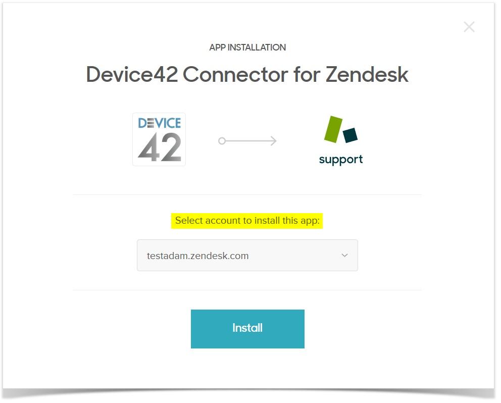 Zendesk Integration - Device42 Documentation | Device42 Documentation