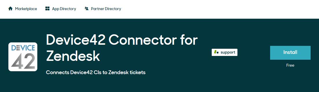 Zendesk Integration - Device42 Documentation | Device42