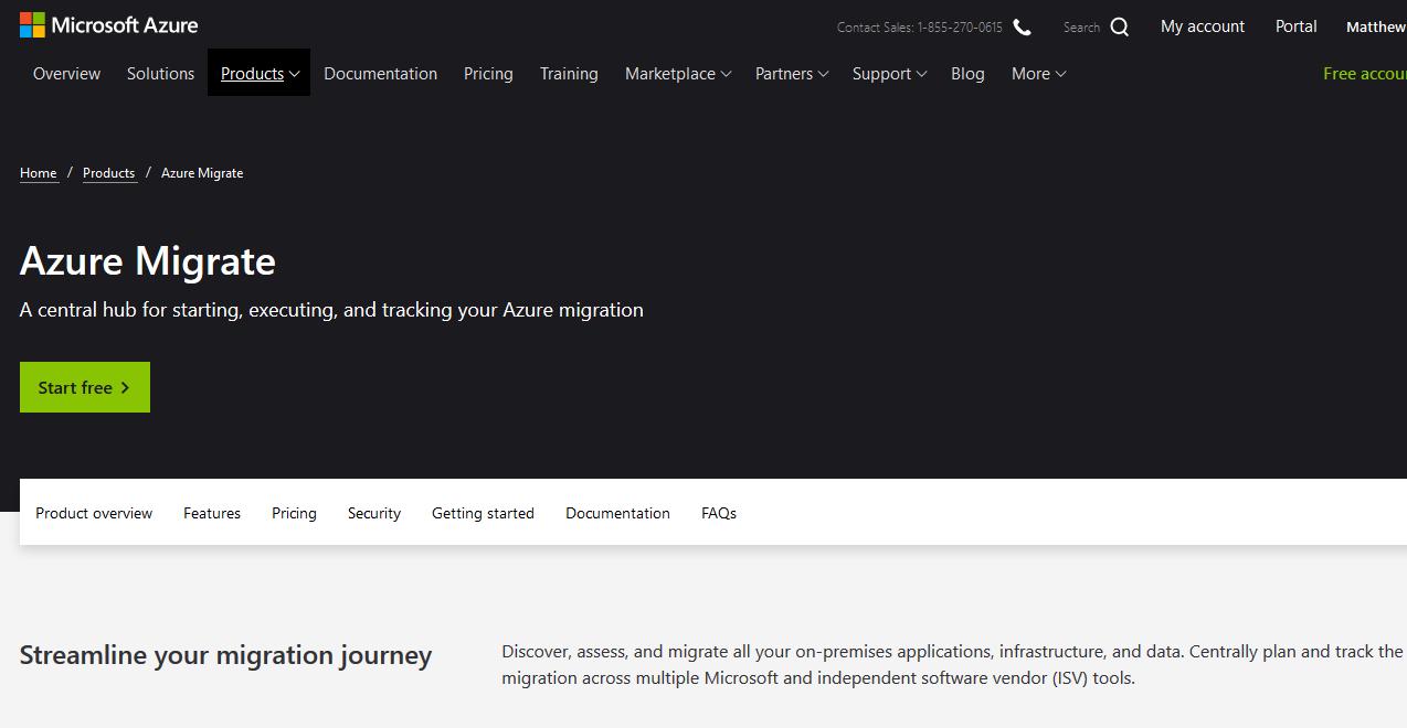 Microsoft Azure Migrate